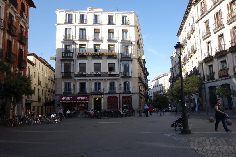 Arkitekturen i centrala Madrid.