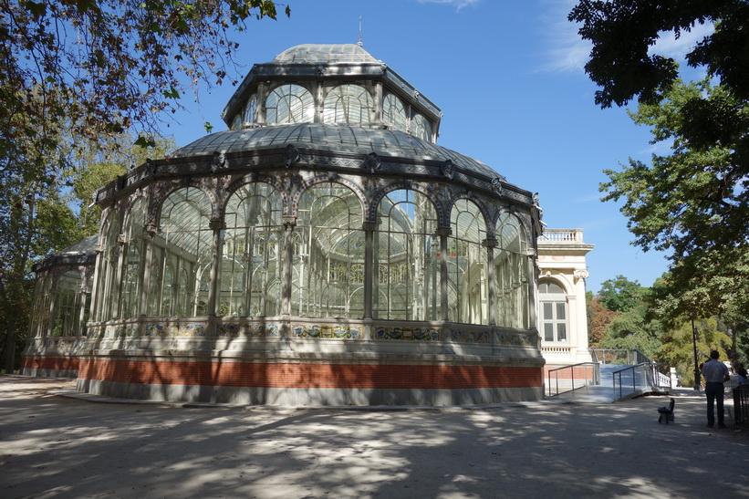 Palacio de Cristal, Parque de El Retiro, Madrid.