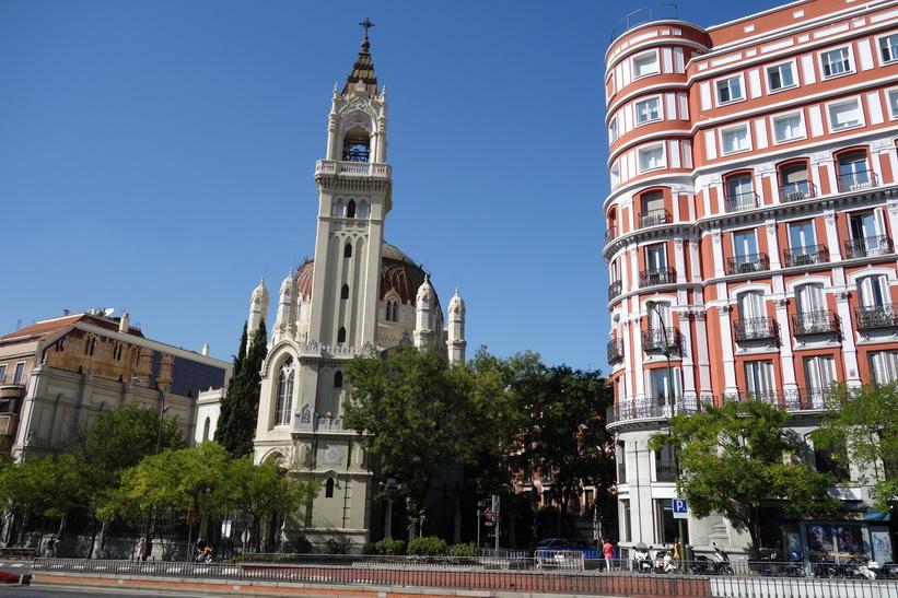 Katolska kyrkan Iglesia de San Manuel y San Benito, Madrid.