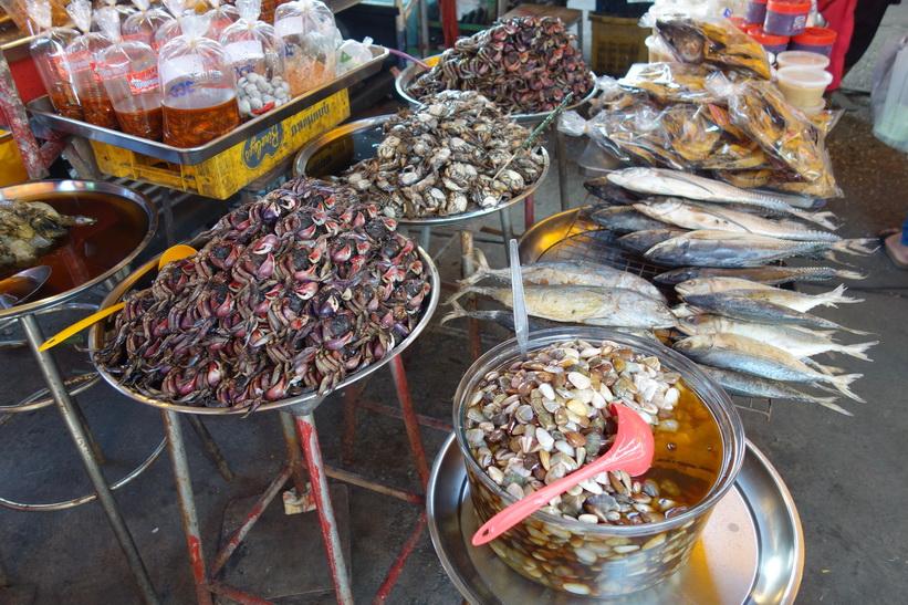 Marknad i centrala Chachoengsao.