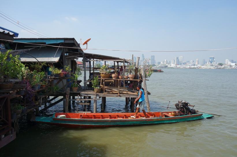 Bang Kachao-piren i Bang Kachao, Bangkok.