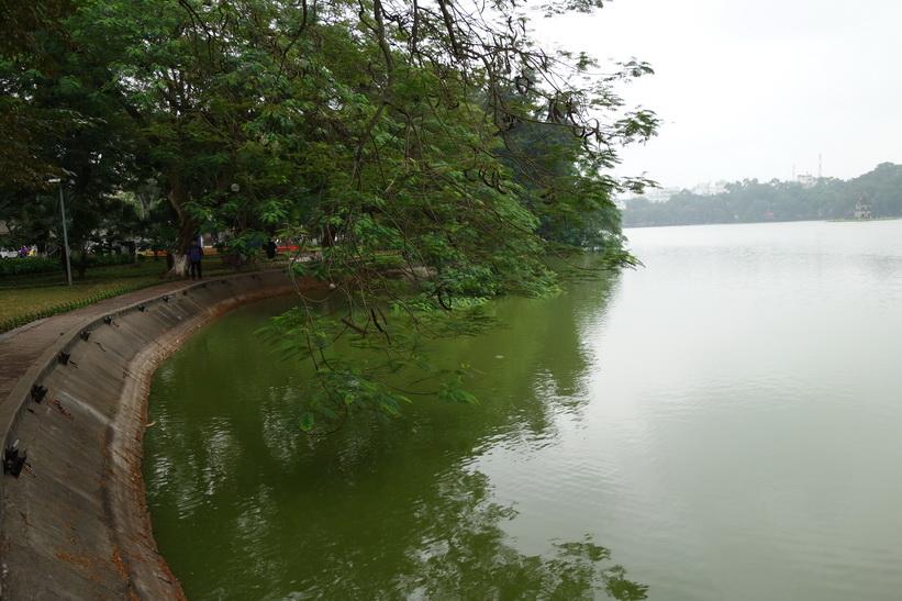 Hoan Kiem-sjön, Hanoi.