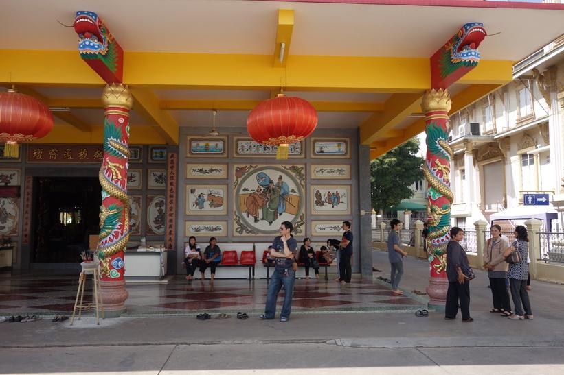 Det kinesiska templet vid Wat Sothorn Wararam Worawiharn, Chachoengsao.
