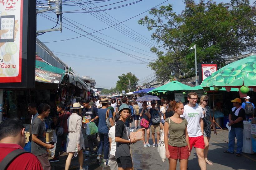 Chatuchak Weekend Market, Bangkok.