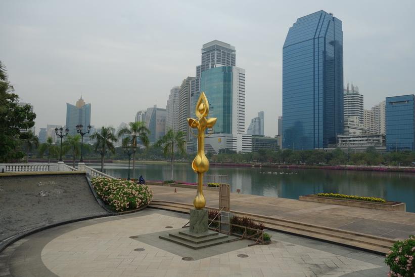 Benjakitti-parken, Bangkok.