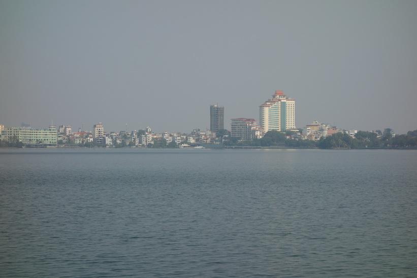 Hồ Tây-sjön, Hanoi.