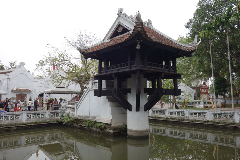 One Pillar Pagoda, Ho Chi Minh complex, Hanoi.