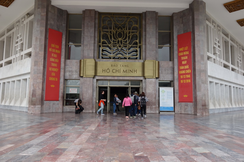 Ho Chi Minh museum, Ho Chi Minh complex, Hanoi.