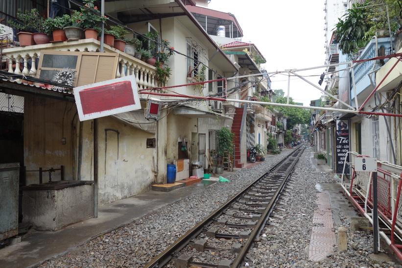 Järnväg i riktning mot Kina, Hanoi.