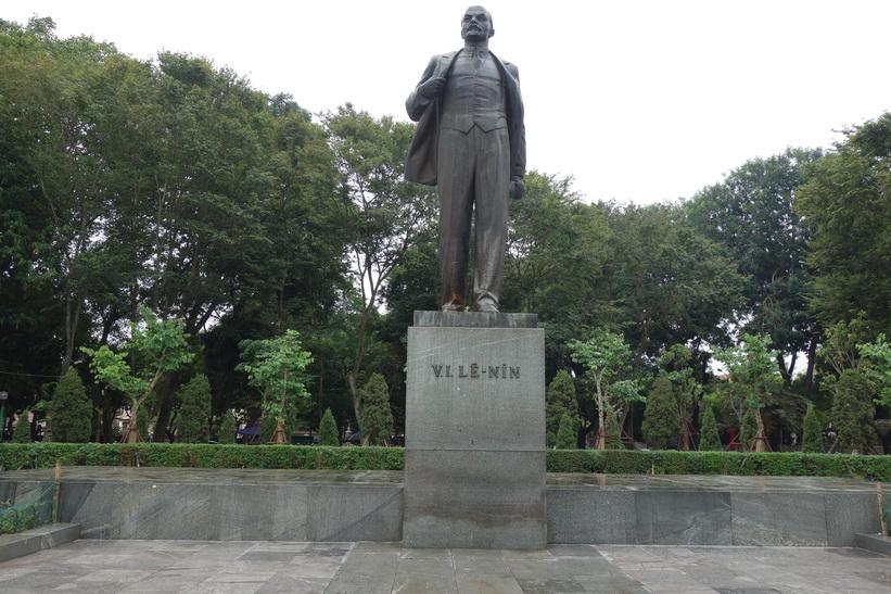 Lenin-statyn i Lenin-parken, Hanoi.