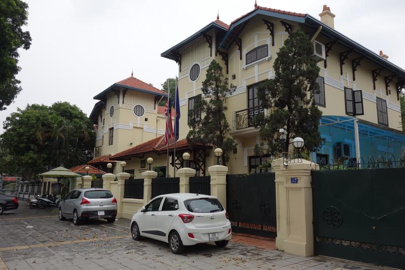 Malaysiska ambassaden, Hanoi.