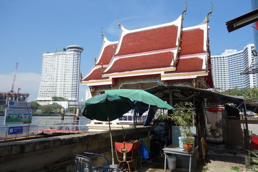 Wat Muang Kae Pier, Bangkok.