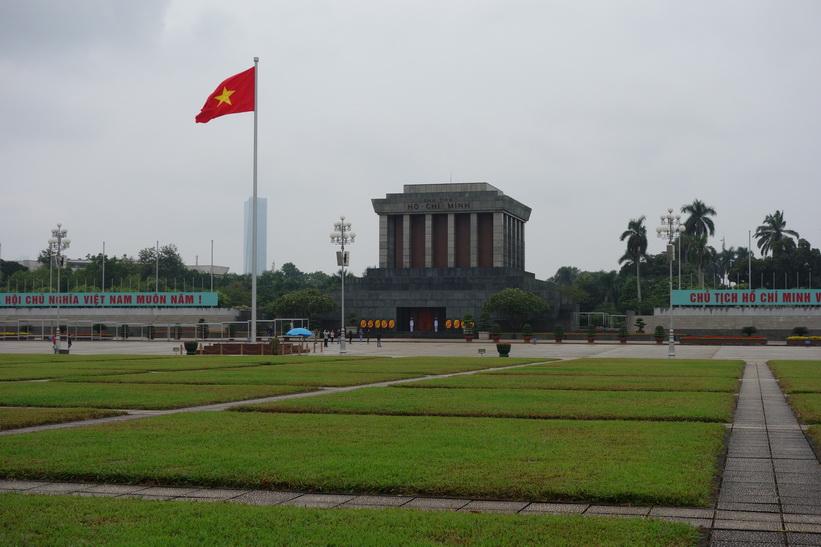 Ho Chi Minh-mausoleet, Hanoi.