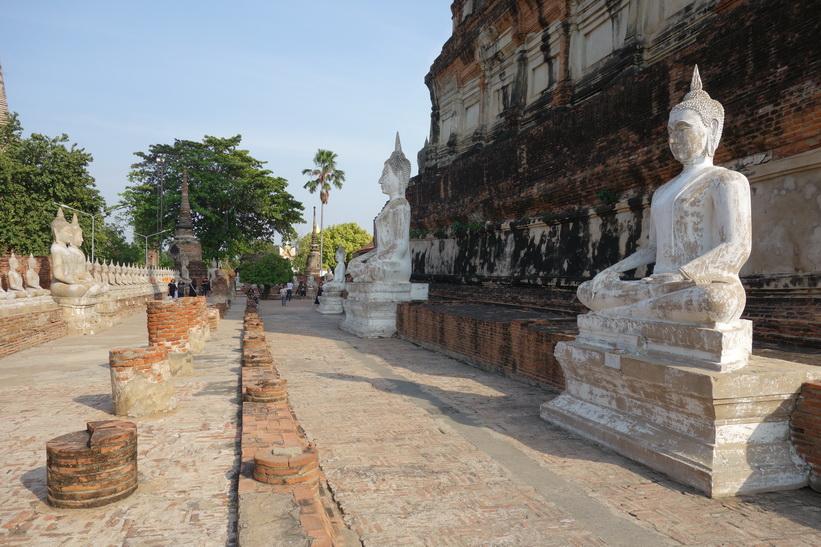 Templet Wat Yai Chai Mongkhol, Ayutthaya.
