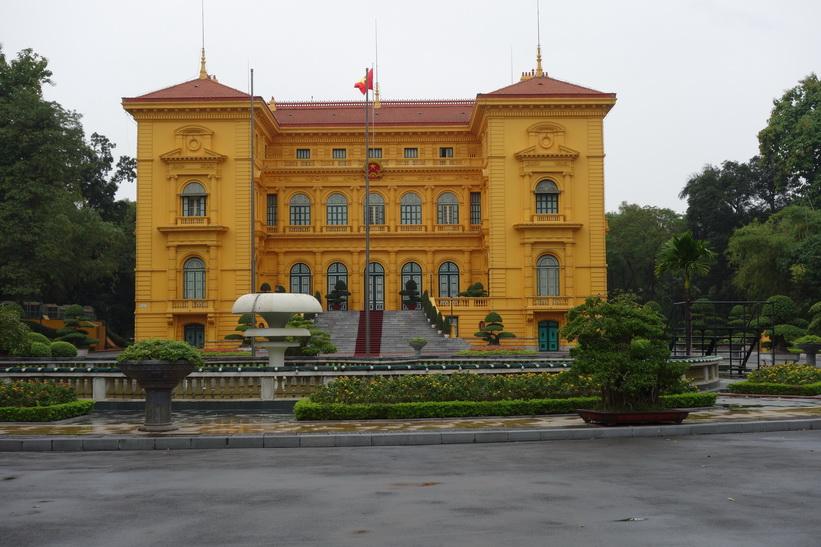 Presidentpalatset, Hanoi.