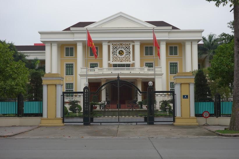 Kolonialbyggnad, Hanoi.