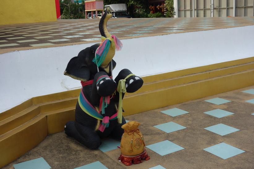 Wat Saman Rattanaram, Chachoengsao.