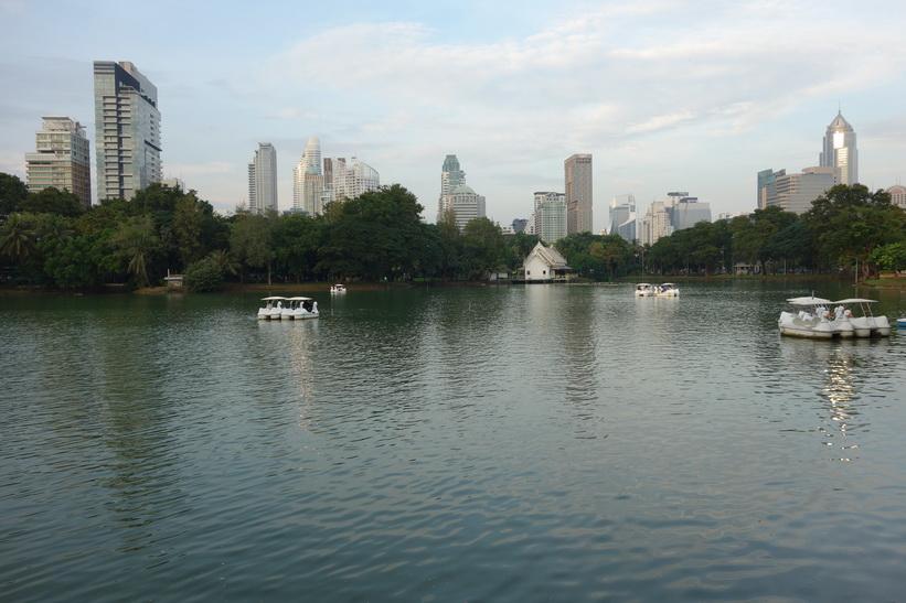Lumpini-parken, Bangkok.