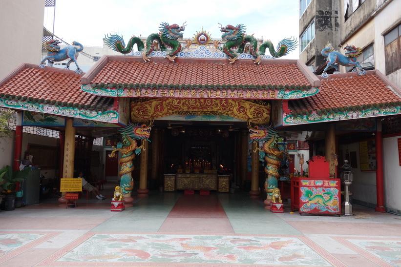 Kinesiskt tempel, Little India, Bangkok.