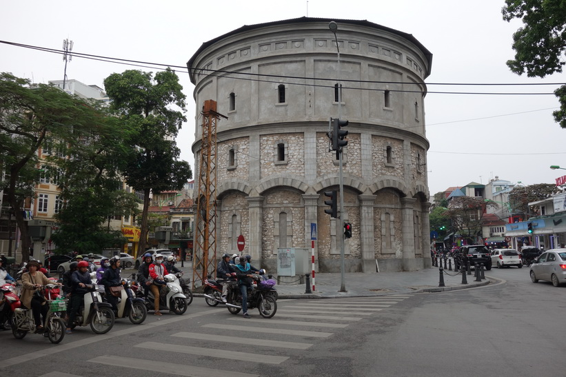 Hang Dau water tower, Hanoi.
