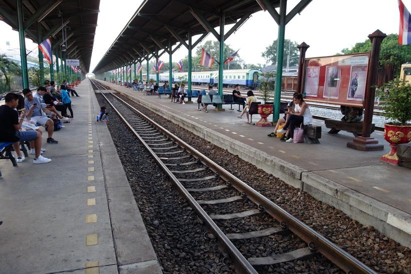 Tågstationen i Chachoengsao.