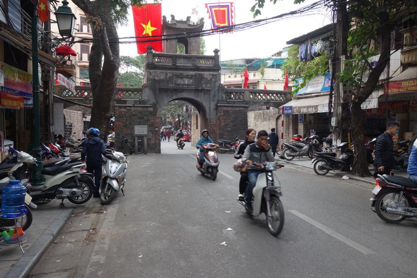 Quan Chuong Gate, Hanoi.