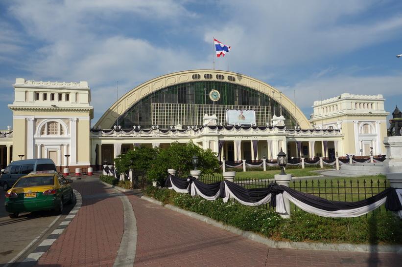 Hua Lamphong tågstation, Bangkok.