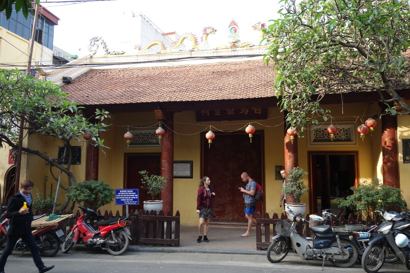 Bach Ma Temple, Old Quarter, Hanoi.