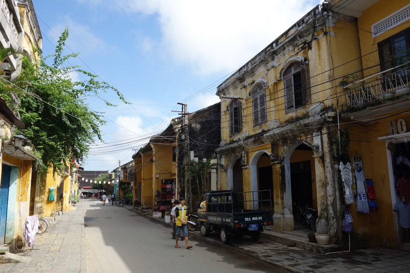 Historiska stadsdelen i Hoi An.