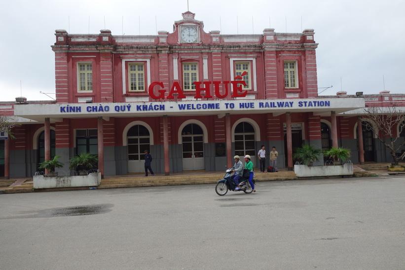 Tågstationen i Hue.