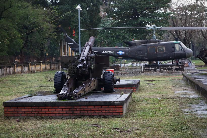 Militärutrustning från Vietnamkriget, Hue.