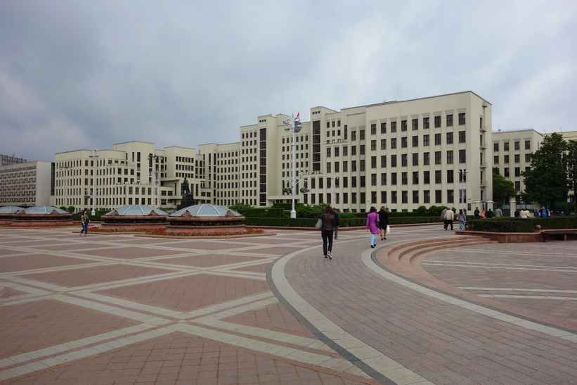 Independence Square, Minsk.