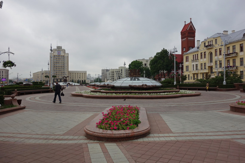 Independece Square, Minsk.
