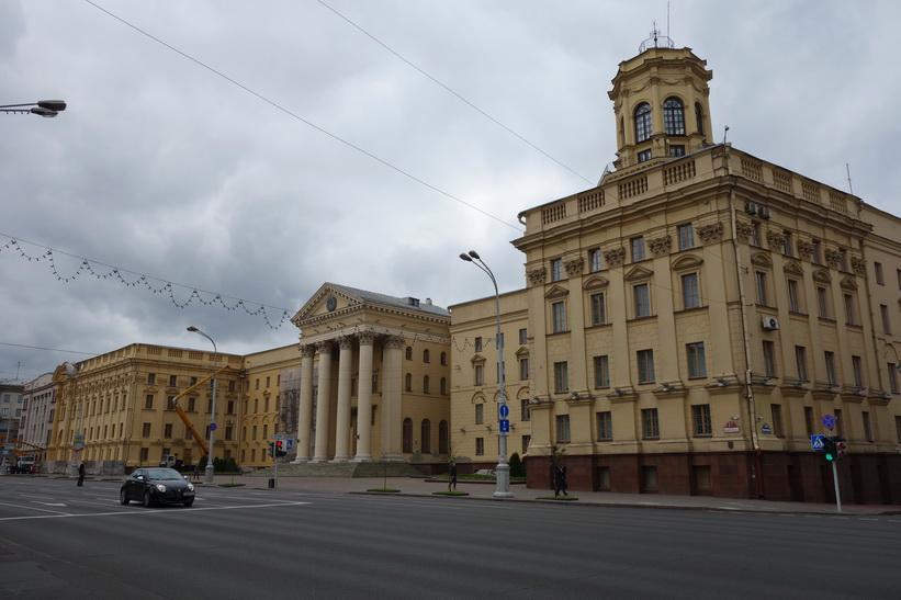 KGB-högkvarteret, Minsk.